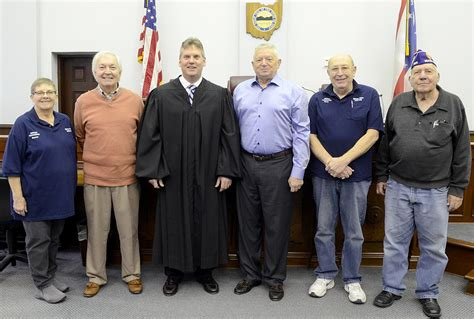 Guernsey County Court Records St Clair Sworn Into Veterans Commission News The