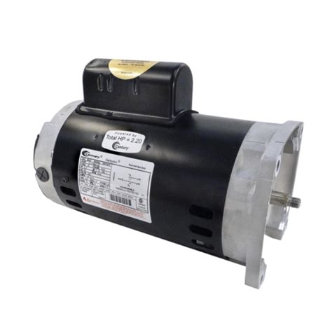 century pool and spa motor century a o smith b855 56y square flange 2 hp up