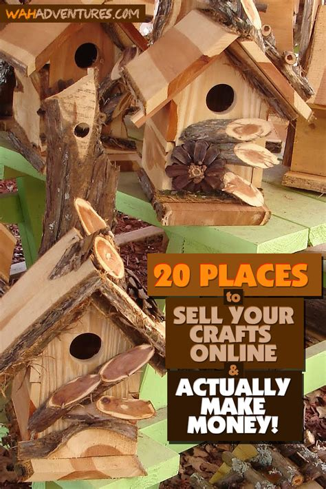 Top Selling Handmade Crafts - 20 places to sell handmade crafts some are free