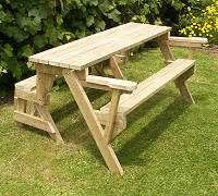 Building Plan For Convertible Picnic Table by Folding Bench To Picnic Table Instructions Page 1