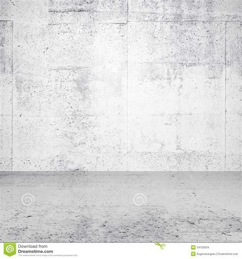 Abstract White Empty Interior Stock Photo   Image of