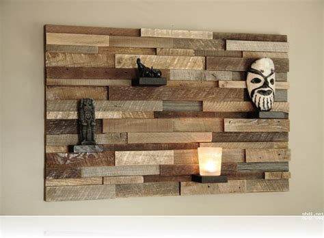 wood wall ideas cool reclaimed wood wall art decor instead of making the