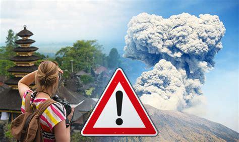 bali volcano eruption mount agung eruption fco release