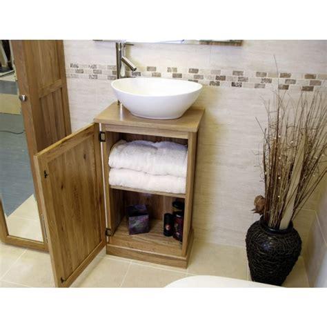 slimline bathroom vanity unit atla slimline compact oak bathroom vanity unit click oak