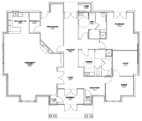 community center floor plan community amenities at ridgewood apartments and townhomes