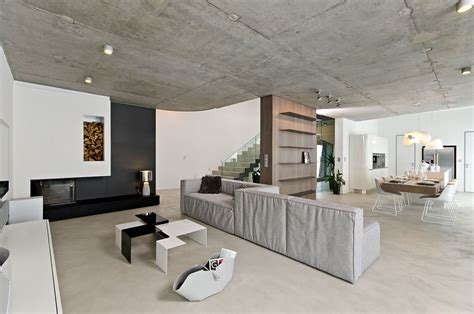 interior of modern homes modern concrete interior by ooox