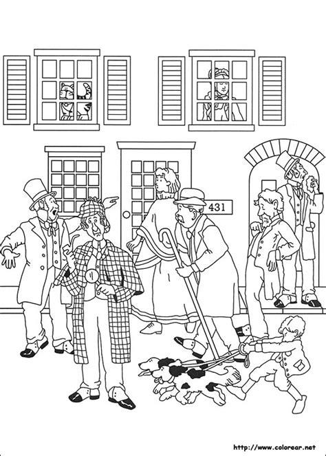Dibujos para colorear de Sherlock Holmes