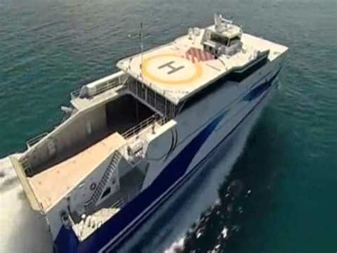 fastest catamaran ferry quot shinas quot fastest diesel powered catamaran ferry in the