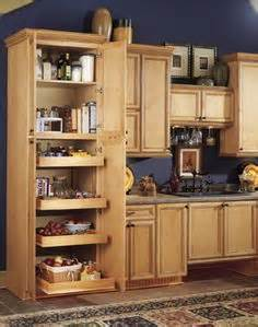 kitchen storage options on cabinets pantries