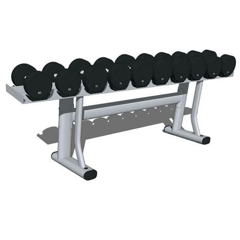 Dumbbell Sport Station Weights Storage Stations 02 3d Model Formfonts 3d Models