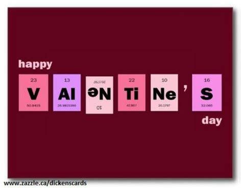 chemistry valentines day card s chemistry