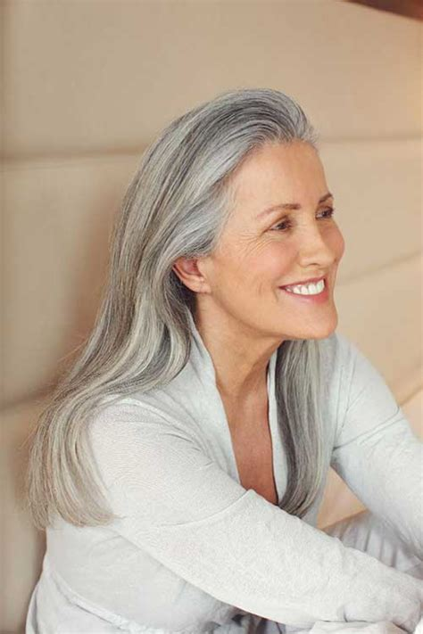 women in their 30s with gray hair image gallery long gray hair
