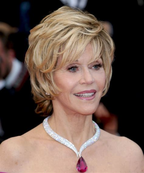 back view of jane fondas hair jane fonda hairstyles in 2018