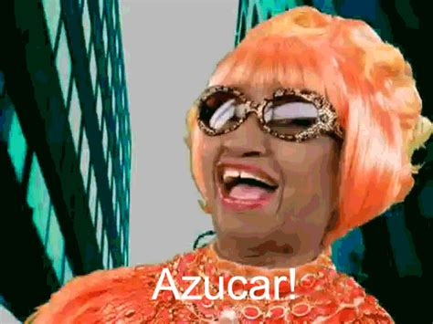 Celia Cruz Meme - spanish orange gif find share on giphy