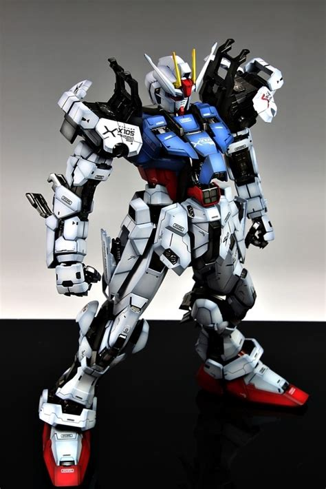 Ng266 Pg Gat X105 Strike Gundam 160 Daban gundam pg 1 60 gat x105 strike gundam painted build