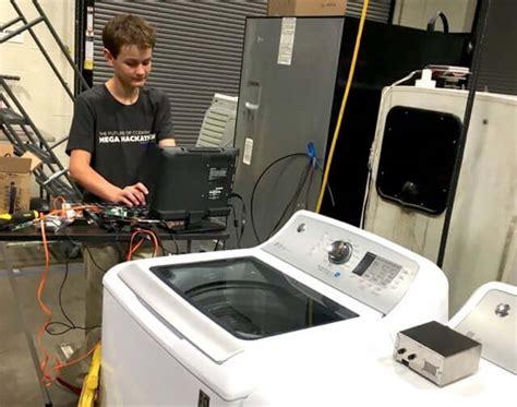Mesin Cuci Samsung Pintar keren nih remaja 14 tahun ciptakan mesin cuci pintar yang