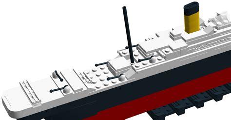 film titanic lego lego ideas lego titanic mini model