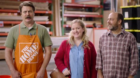 nick offerman the conners watch nick offerman in last week tonight s home depot