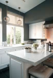 Gray Kitchen Walls With White Cabinets White And Gray Kitchen Contemporary Kitchen Kishani Perera