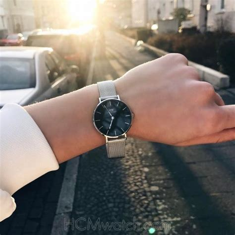 Dw Classic Sterling Black Silver 32mm Original 1 đồng hồ dw classic sterling black 32mm dw00100162