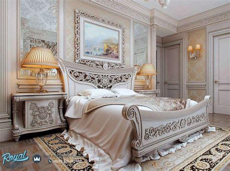 Ranjang Kayu Klasik kamar tidur ukiran klasik mewah terbaru luxury royal furniture indonesia