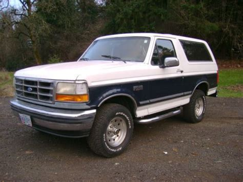 ford bronco for sale near me sell used 1993 ford bronco xlt lariat sport utility 2 door