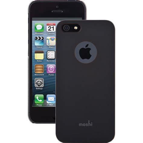 moshi iglaze case  iphone sse graphite black