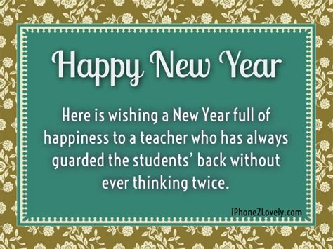 40 happy new year wishes for teachers 2018 messages