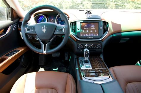 new maserati interior 2014 maserati ghibli interior youtube