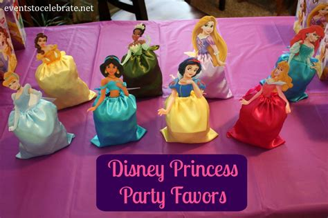 Princess Party Giveaways - disney princess birthday party ideas invtations favors events to celebrate