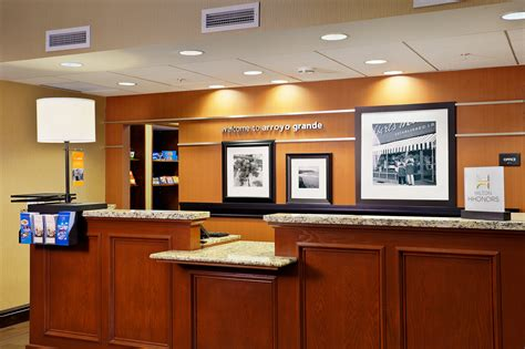 Hotel Front Desk by Hton Inn Suites Places To Stay In Arroyo Grande