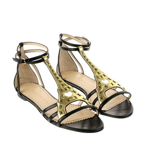 olympia sandals olympia high sandals in gold and black nappa