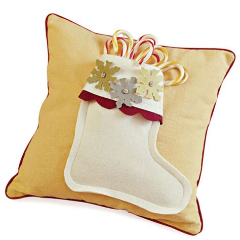 holiday comfort comfort and joy stocking pillows allpeoplequilt com