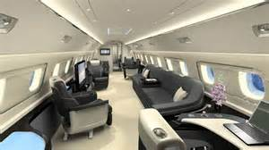 Lineage 1000 Interior by Embraer Lineage 1000 Jet By Priestmangoode