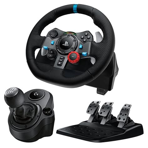 volante logitech logitech g29 driving racing wheel for ps4 pc