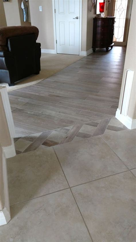 wood floor  tile transition ideas tile wood transition