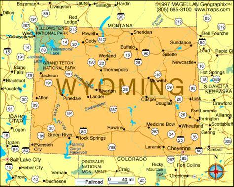 us map showing wyoming atlas wyoming