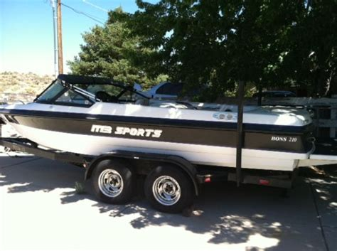 ski boats for sale reno nv mb sports boss 210 for sale