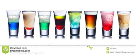 colorful alcoholic drinks colorful drinks stock image image of drink