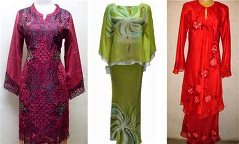 Kebaya Border Senada Rb 04 9 contoh gambar model baju kurung melayu terkini untuk