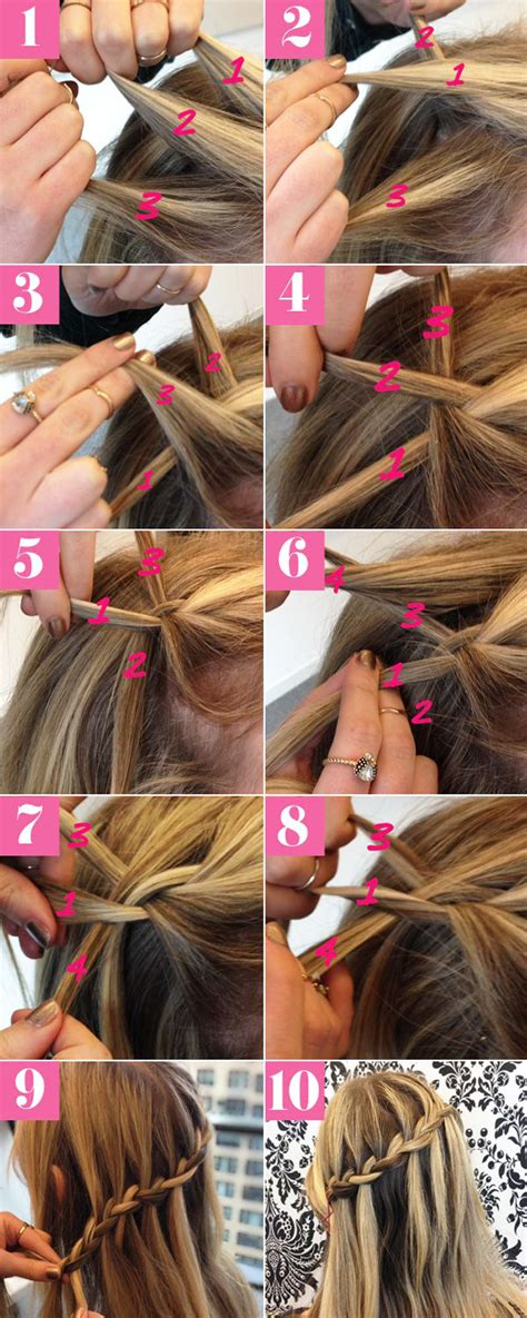 step by step twist hairstyles easy step by step hairstyles for medium hair