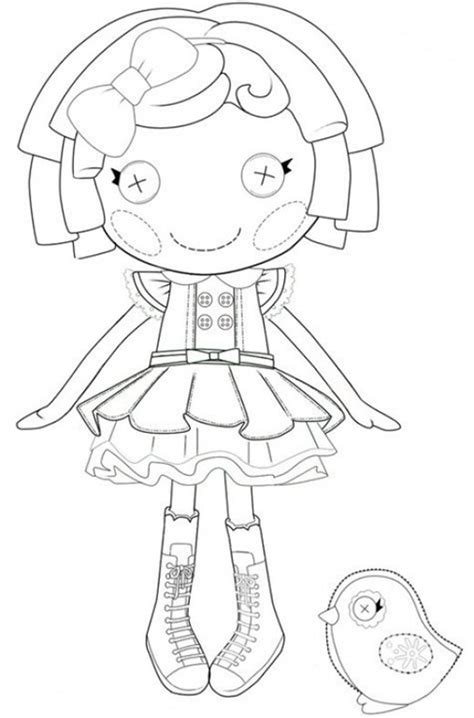 W Is For Web Coloring Page by Ba 250 Da Web Lalaloopsy Para Colorir
