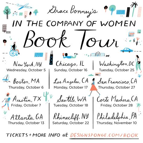 Book Tours by Book Tour In The Company Of Fall 2016 Design Sponge
