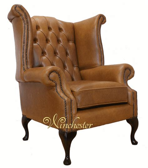 queen anne leather sofa chesterfield queen anne high back wing chair uk