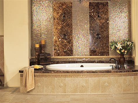 bathroom glass tile designs 30 beautiful ideas and pictures decorative bathroom tile