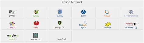 tutorialspoint online tutorialspoint edita compila y ejecuta tus proyectos de