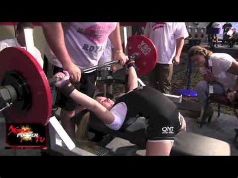 13 year old bench press record 13 year old girl can bench press 198lbs world record