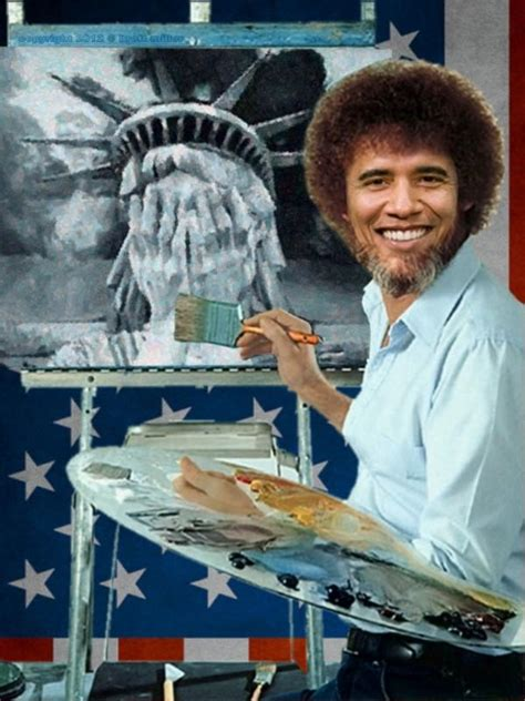 bob ross painting the universe image 282945 photoshop bob ross your meme
