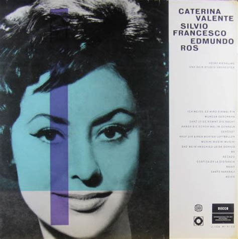 caterina valente silvio francesco caterina valente silvio francesco 42 vinyl records