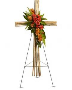 river cane cross river cane cross flower bouquet